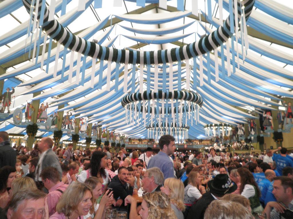 Oktoberfest por dentro