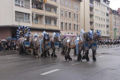 Desfile del Oktoberfest