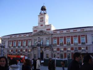 Casa de Correos en la Puerta del Sol