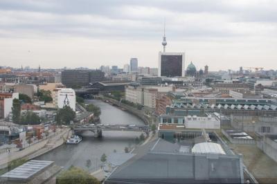 Vistas de Berlín desde la cúpula del Reichstag