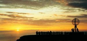 Sol de medianoche de Turismo de Noruega