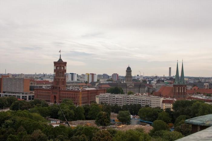 Vistas desde la cúpula de la Catedral