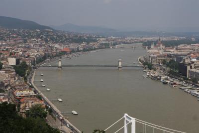 El Danubio a su paso por Budapest