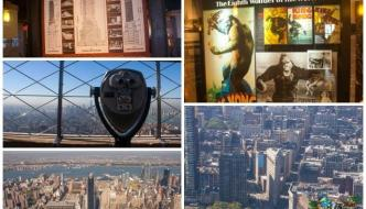 En el Empire State Building