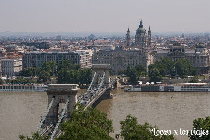 Puente de las Cadenas de Budapest