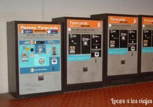 Máquinas del metro
