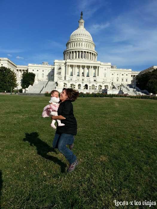 Viajar con bebé a EE.UU.