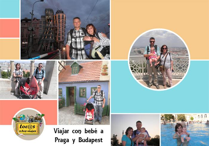 Viajar con un bebé a Praga y Budapest