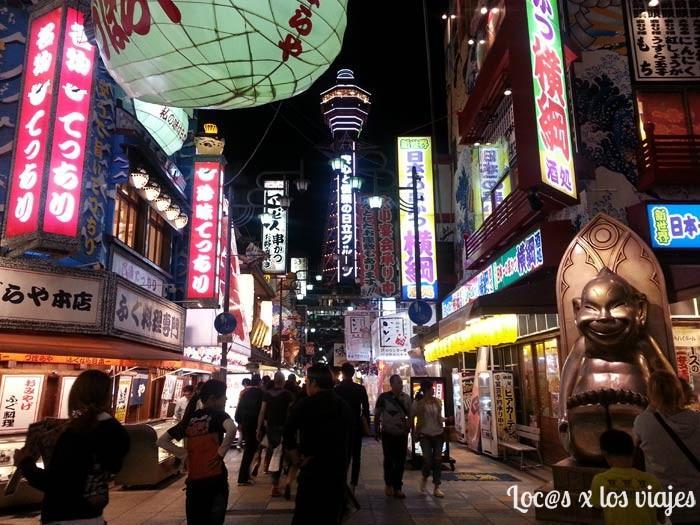 Japón: Torre Tsutenkaku de Osaka