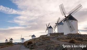 Los molinos de Don Quijote en Consuegra