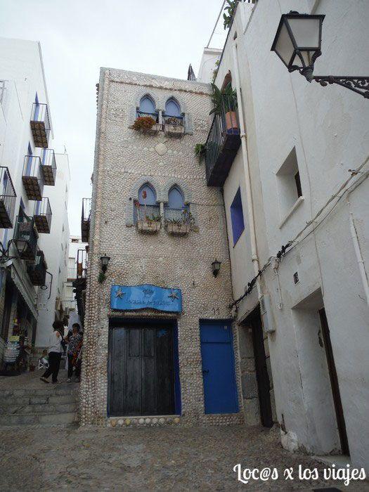 Casa de las Conchas en Peñíscola