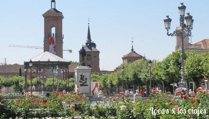 Plaza Cervantes de Alcalá de Henares