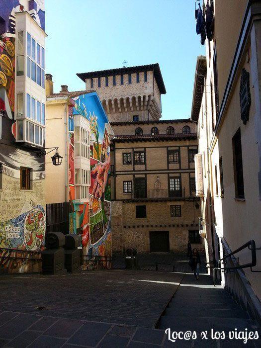 Murales en Vitoria