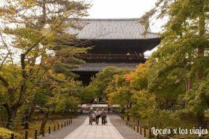 Puerta Samnon de Nazen-ji