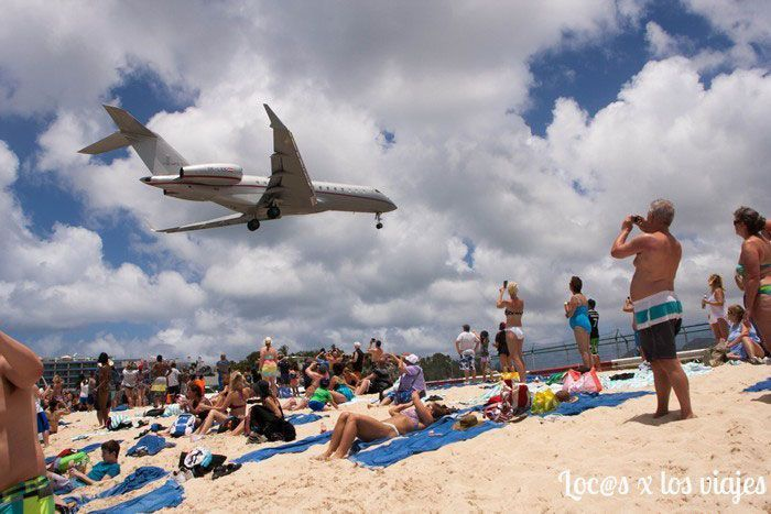 Maho Beach en Sint Maarten