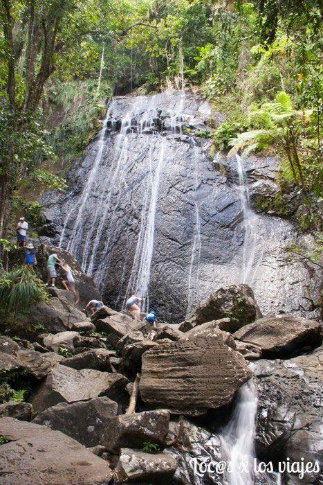 Parque Nacional de El Yunque: Coca Falls