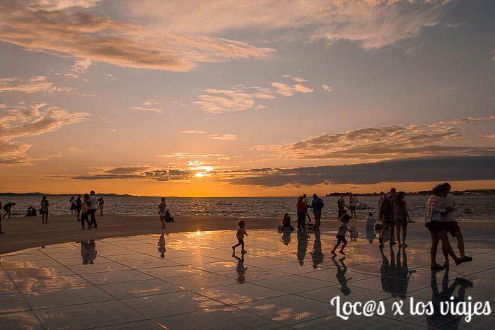 Zadar: Saludo al Sol