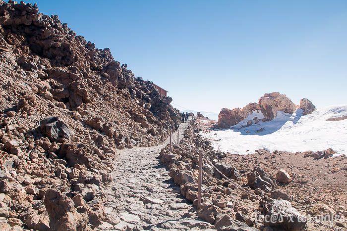 Ruta 12 desde el Teleférico del Teide