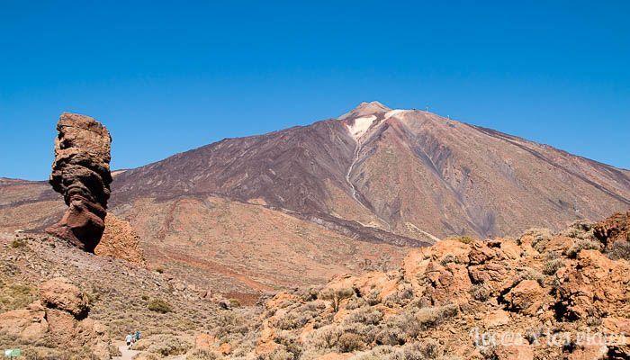 El Teide visto desde el Roque de los García