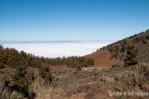 Mar de nubes en el Teide