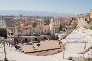 Plovdiv con niños: Teatro Romano