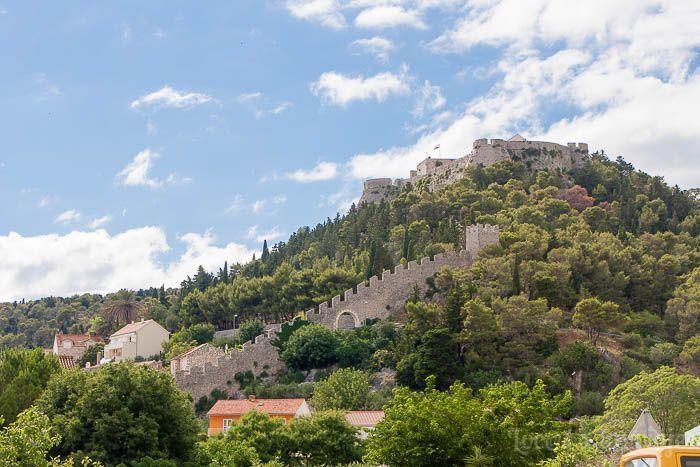 Fortaleza Española en Hvar
