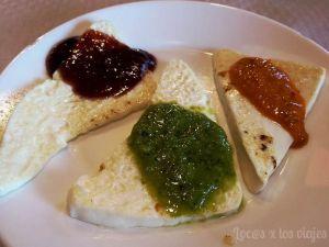 Gastronomía de Tenerife: Queso asado