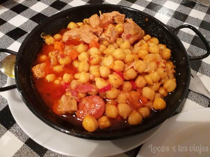 Gastronomía de Tenerife: Garbanzas