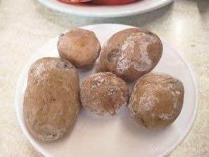 Gastronomía de Tenerife: Papas arrugadas