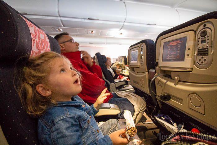 Rumbo a California: en el avión a Los Ángeles