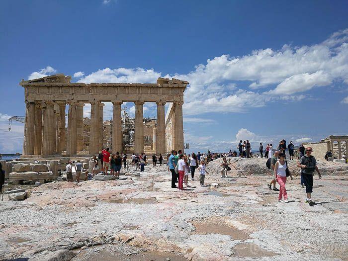 Grecia con niños: El Partenón