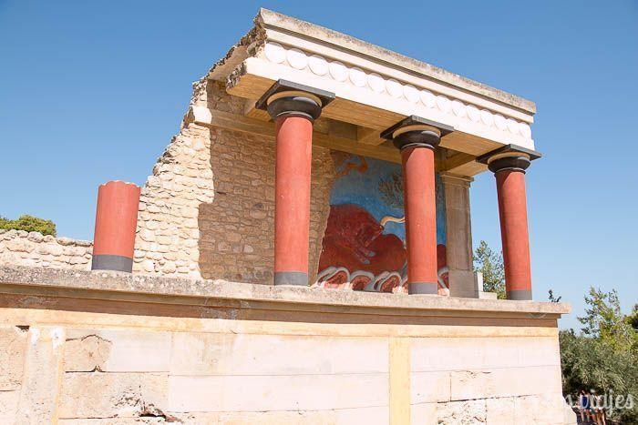 Tres días en Creta con coche de alquiler: Palacio de Cnossos