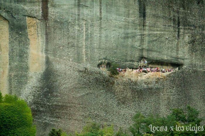 Meteora al atardecer: Cuevas de los primeros ermitaños en Meteora