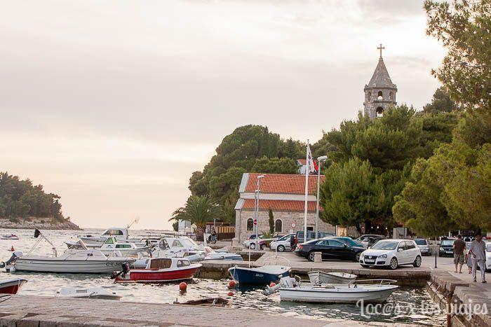 Cavtat con niños: puerto