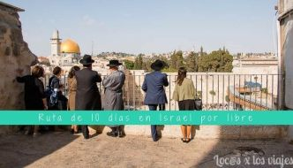 Ruta de 10 días por libre en Israel