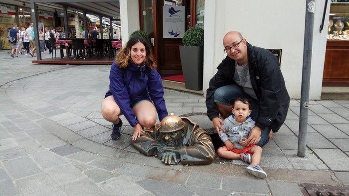 Viajes por Europa para el primer viaje con bebé