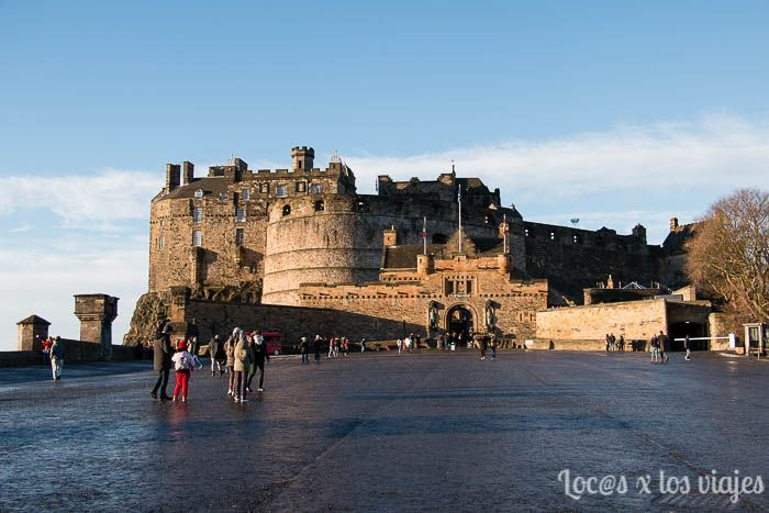 Edimburgo con niños: Castillo de Edimburgo