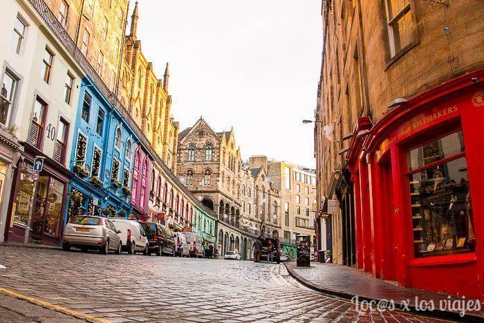 Victoria Street en Edimburgo