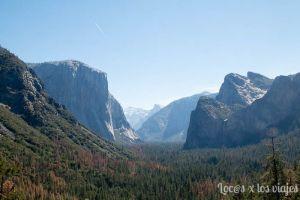 Yosemite desde Tunnel View