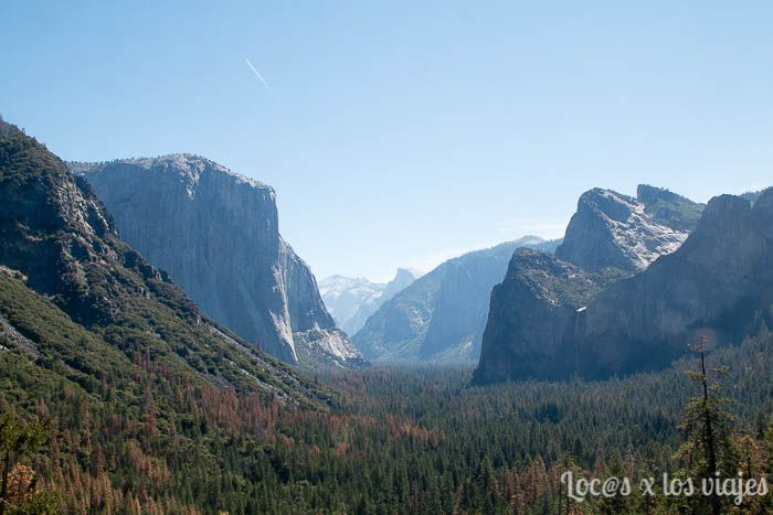 Yosemite desde Tunnel View