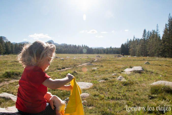 En Tuolumne Meadows en Yosemite