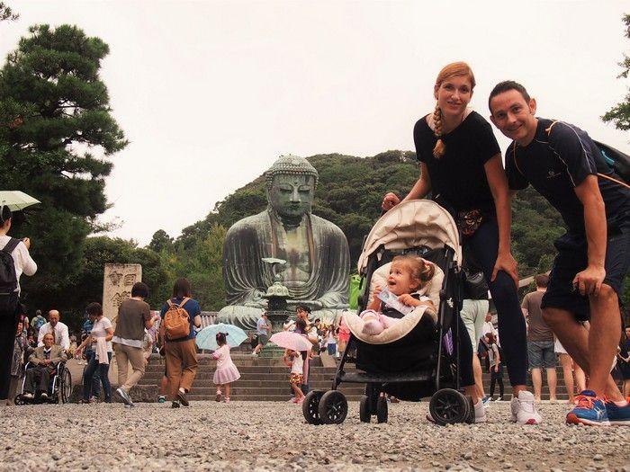 Viajando con chupetes en Japón