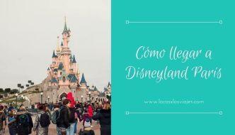 Cómo ir del aeropuerto a Disneyland París