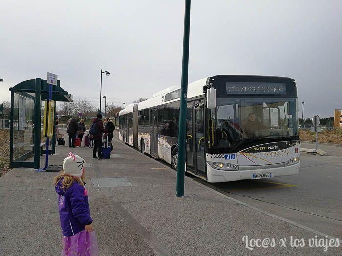 Autobús lanzadera a Disneyland París
