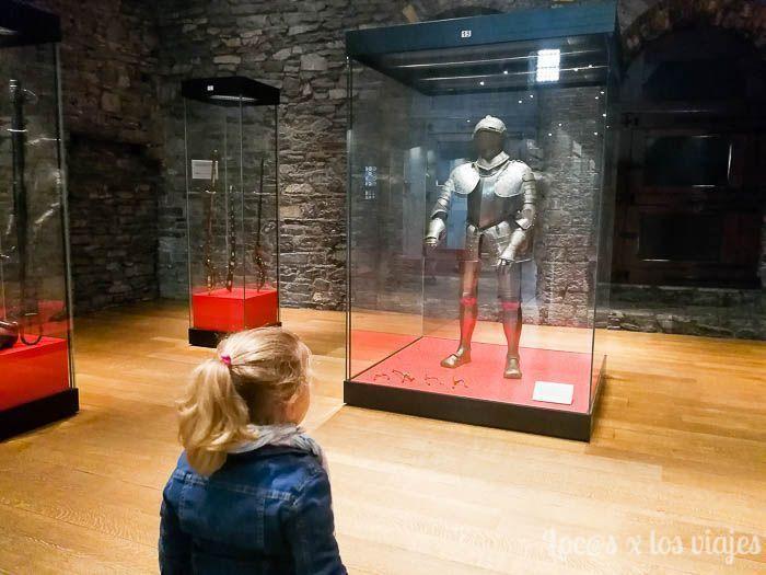 Flandes con niños: en el castillo de los condes Gante