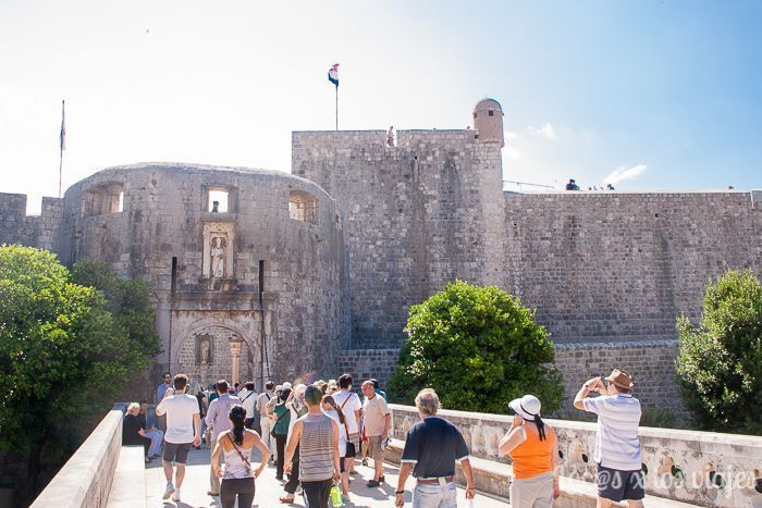 Dubrovnik: Puerta de Pile