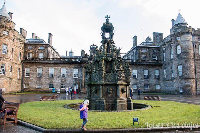 Edimburgo con niños: Palacio Holyroodhouse