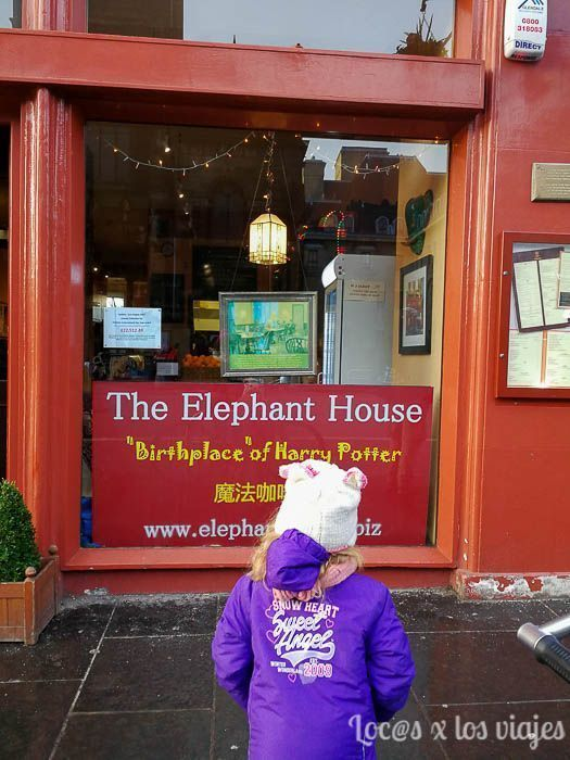 Edimburgo con niños: The Elephant House