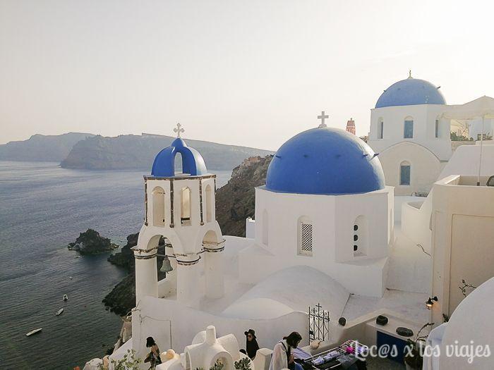 Grecia: Tejados de Oia