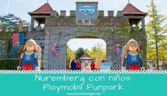 Visitar con niños el Playmobil FunPark de Nuremberg